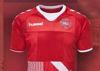 Camiseta especial de Dinamarca 2018 | Foto Hummel