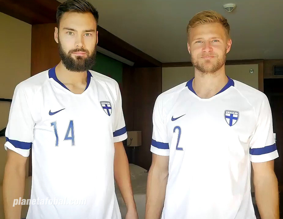 Nueva camiseta titular Nike de Finlandia 2018-2019