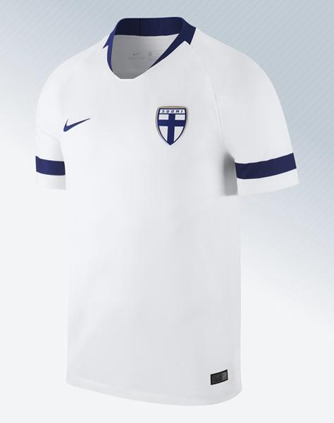 Camiseta titular 2018-2019 de Finlandia | Imagen Nike