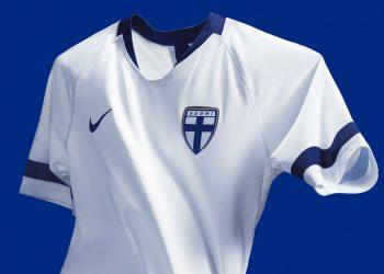 Nueva camiseta titular de Finlandia 2018-2019 | Imagen Nike