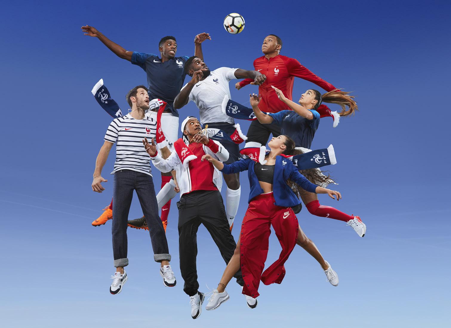 Nuevas camisetas de Francia Mundial Rusia 2018 | Foto Nike