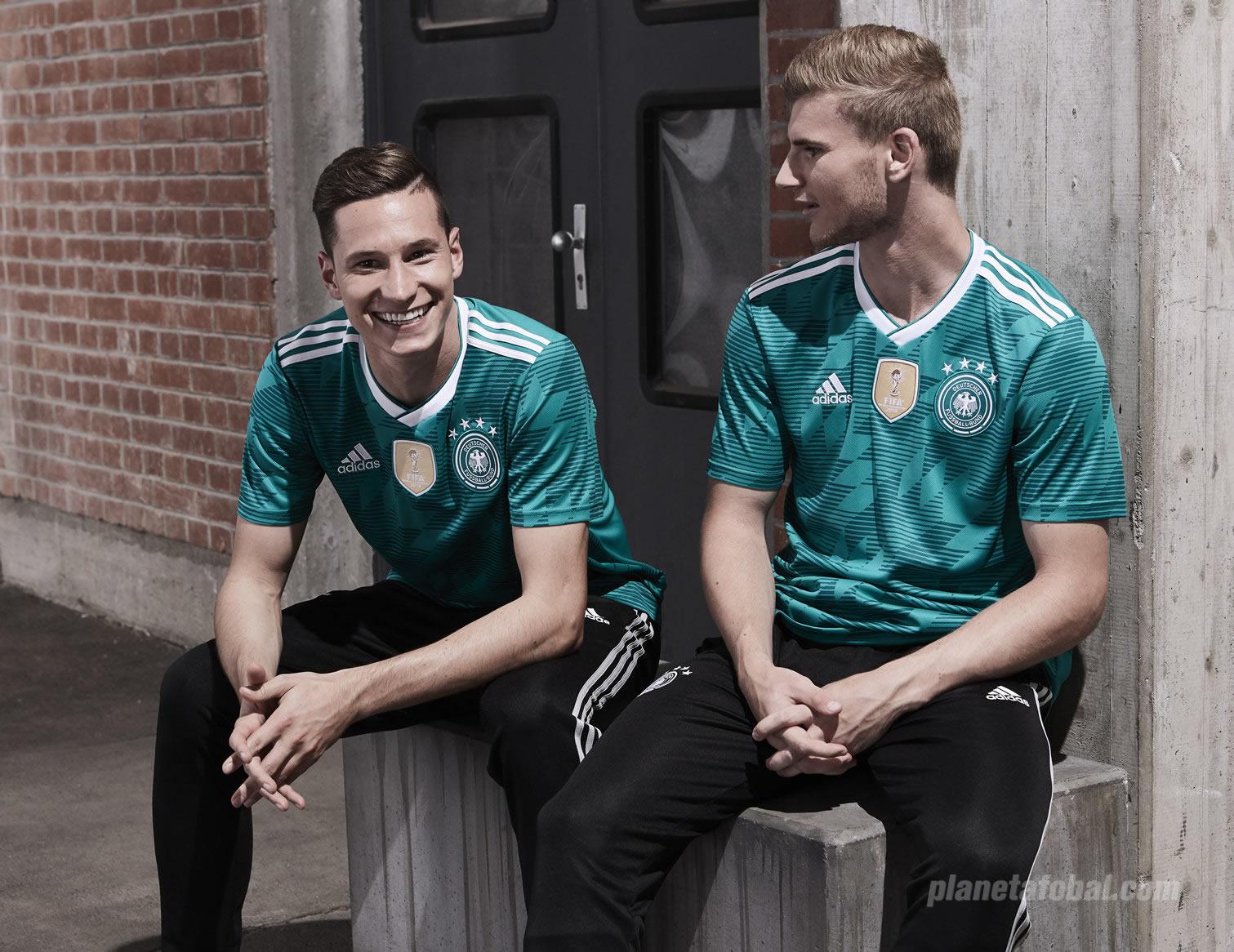Camiseta suplente Adidas de Alemania Mundial 2018 fa3bb185787ff