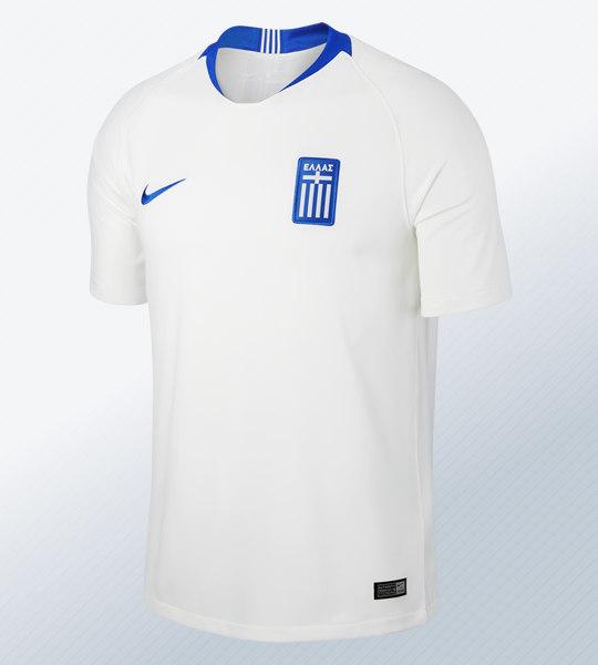 Camiseta titular 2018-19 de Grecia | Foto Nike