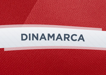 Camisetas de Dinamarca | Hummel