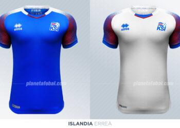 Camisetas de Islandia | Erreà
