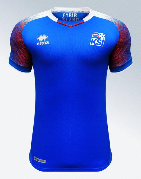 Camiseta titular de Islandia Mundial 2018 | Imagen ErreàCamiseta titular de Islandia Mundial 2018 | Imagen Erreà