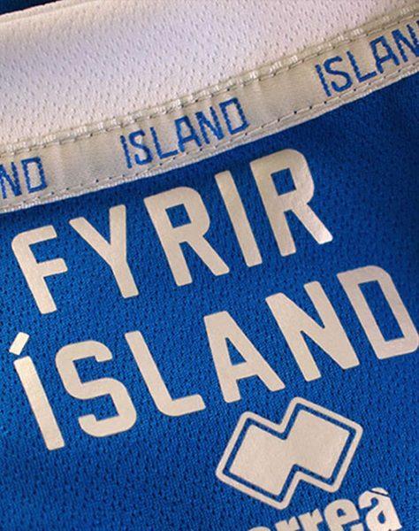 Camiseta titular de Islandia Mundial 2018 | Imagen Erreà