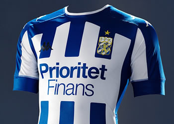 Nuevo kit titular Kappa del IFK Göteborg | Imagen Web Oficial
