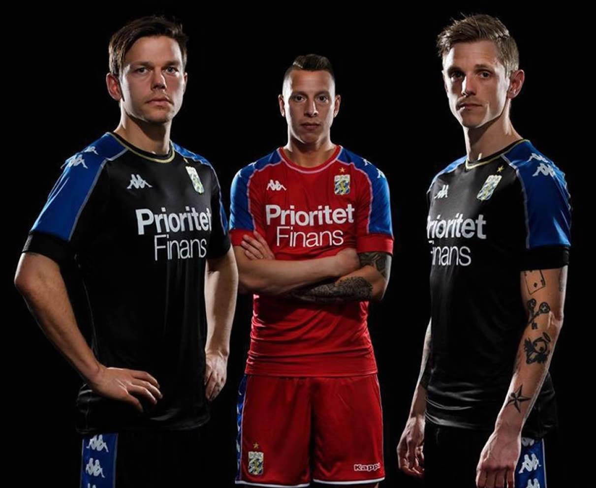 Camisetas alternativas Kappa 2018 del IFK Göteborg | Imagen Web Oficial