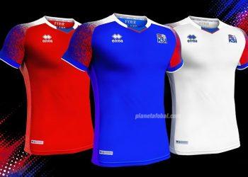 Nuevas camisetas de Islandia para el Mundial 2018