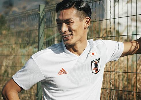 Nueva camiseta suplente 2018 de Japón | Foto Adidas