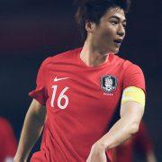 Camiseta titular de Corea del Sur Mundial 2018 | Foto Nike
