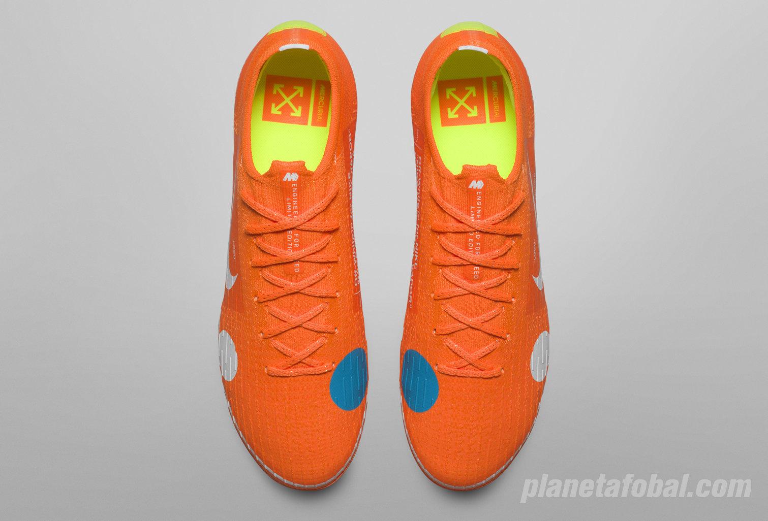 Botines Mercurial Vapor 360 x Virgil Abloh | Foto Nike