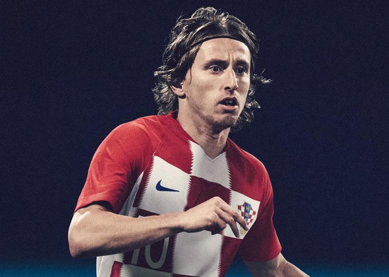 Modric con la camiseta titular de Croacia | Foto Nike