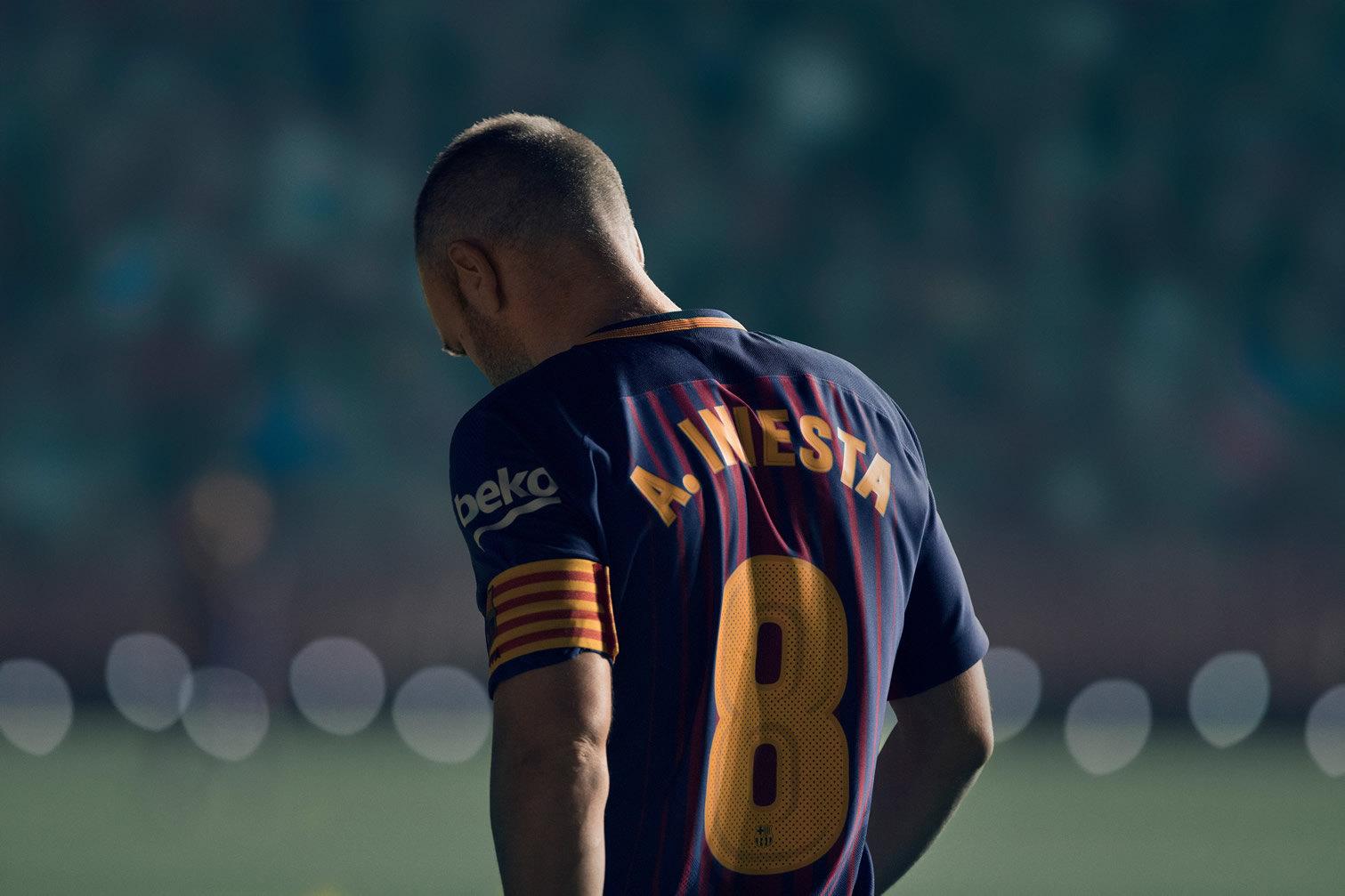 Iniesta es uno de los protagonistas del film | Foto Nike