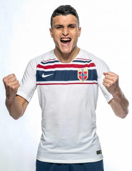 Camiseta suplente Nike de Noruega 2018-2019 | Foto NFF