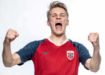 Camiseta titular Nike de Noruega 2018-2019 | Foto NFF