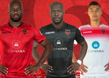 Nuevas camisetas Macron del Phoenix Rising FC | Imagen Web Oficial