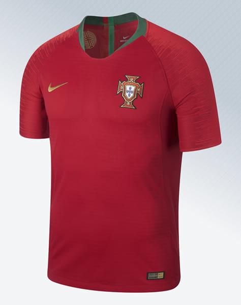 Camiseta titular de Portugal Mundial 2018 | Imagen Nike