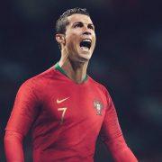 Cristiano Ronaldo con el kit titular | Foto Nike