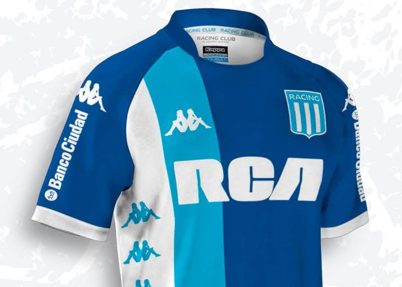 Nueva camiseta alternativa de Racing   Foto Web Oficial