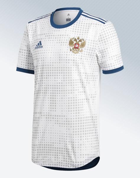 Camiseta suplente de Rusia Mundial 2018 | Imagen Adidas