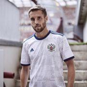 Nueva camiseta suplente de Rusia 2018 | Foto Adidas