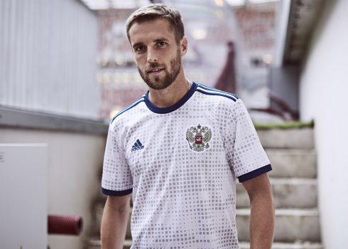 Nueva camiseta suplente de Rusia 2018   Foto Adidas
