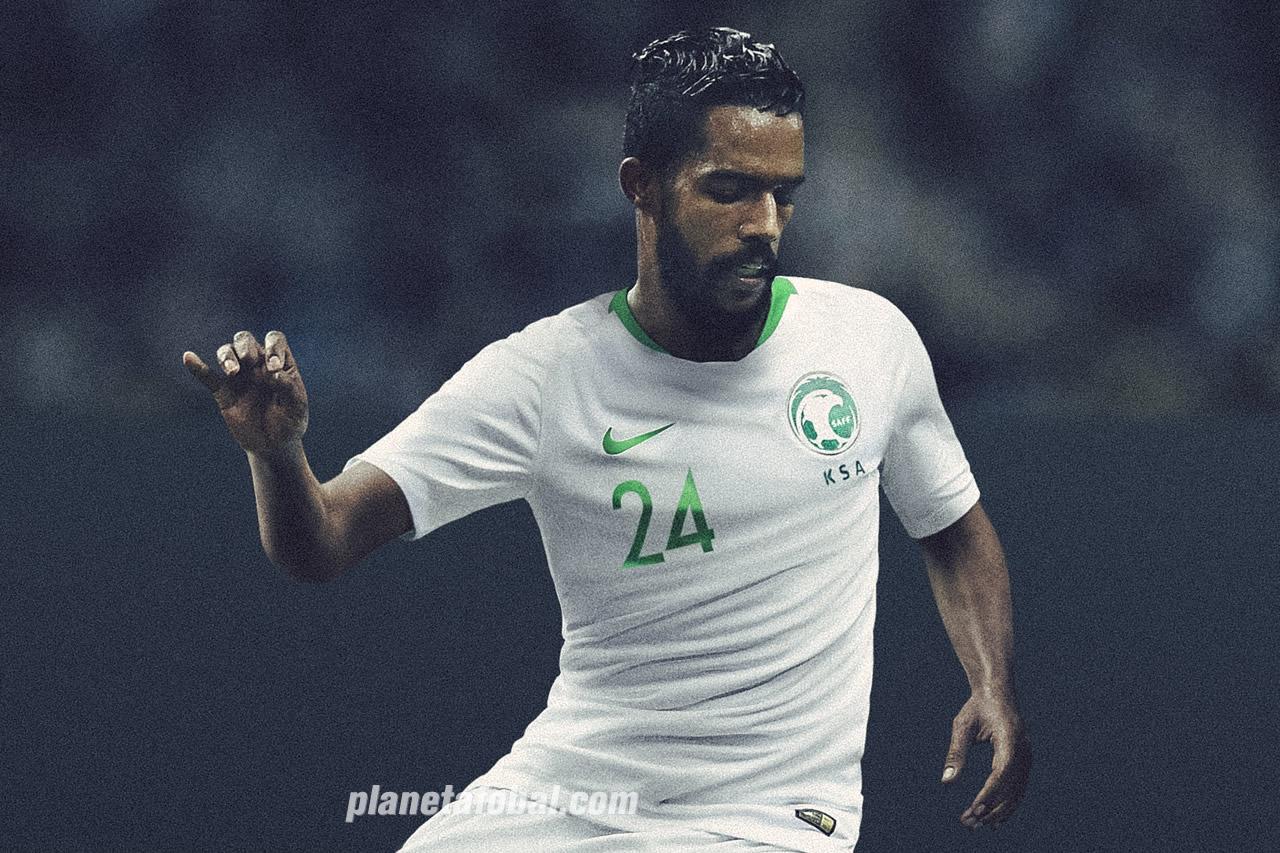 Camiseta titular Nike de Arabia Saudita Mundial 2018 | Foto SAFF