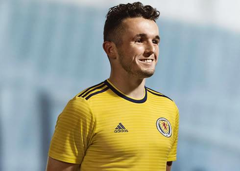 Nueva camiseta suplente Adidas de Escocia | Imagen Scottish FA
