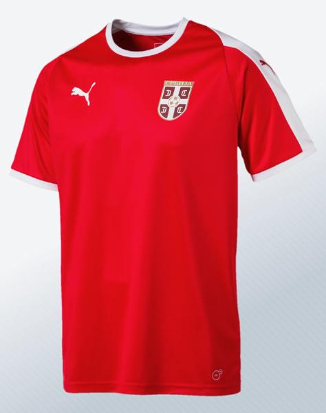 Camiseta titular Puma de Serbia Mundial 2018 | Imagen Ilustrativa