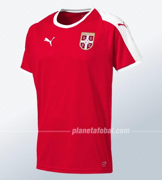 Camiseta titular de Serbia Mundial 2018 | Imagen Puma