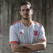 Camiseta suplente de España Mundial 2018   Foto Adidas