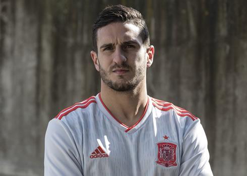 Camiseta suplente de España Mundial 2018 | Foto Adidas