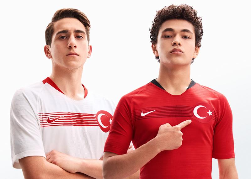 Nuevas camisetas 2018-19 de Turquía | Imágenes Nike