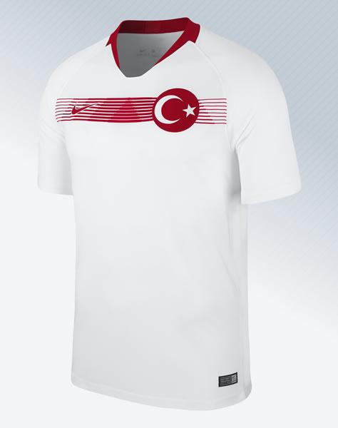 Camiseta suplente de Turquía 2018-2019 | Foto Nike