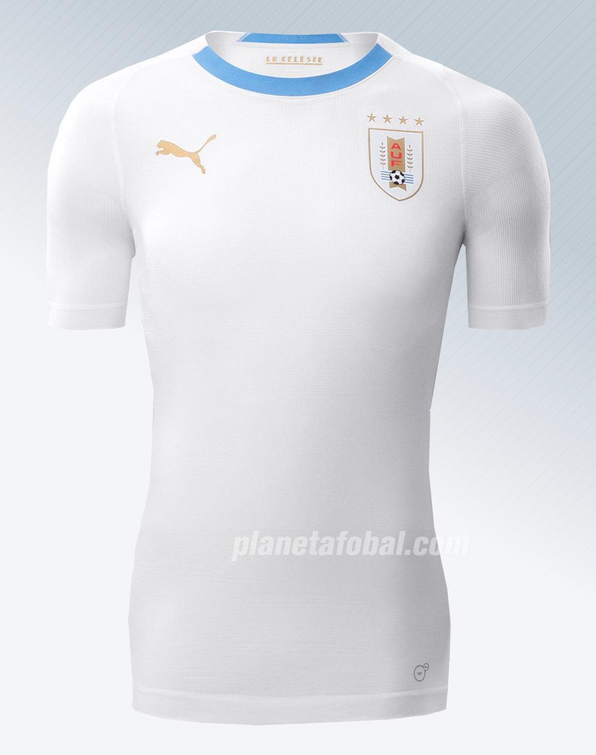 Camiseta suplente de Uruguay Mundial 2018 | Imagen Puma