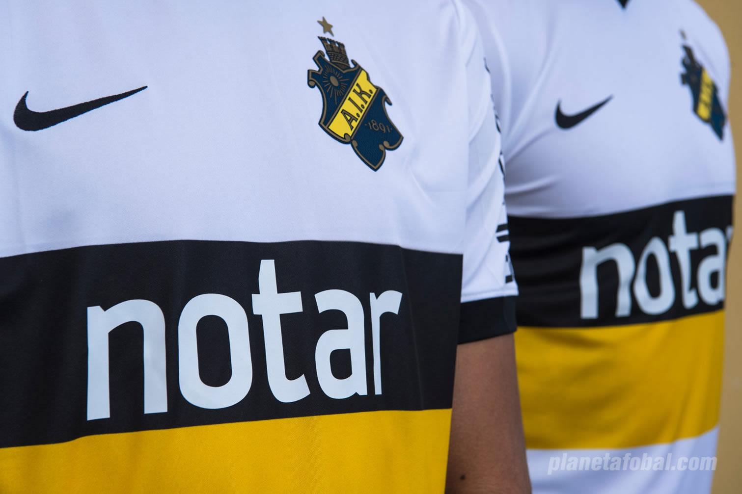 Camiseta edición limitada Nike del AIK Solna | Foto Web Oficial