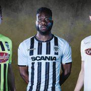 Nuevas camisetas Kappa del Angers SCO   Foto Web Oficial