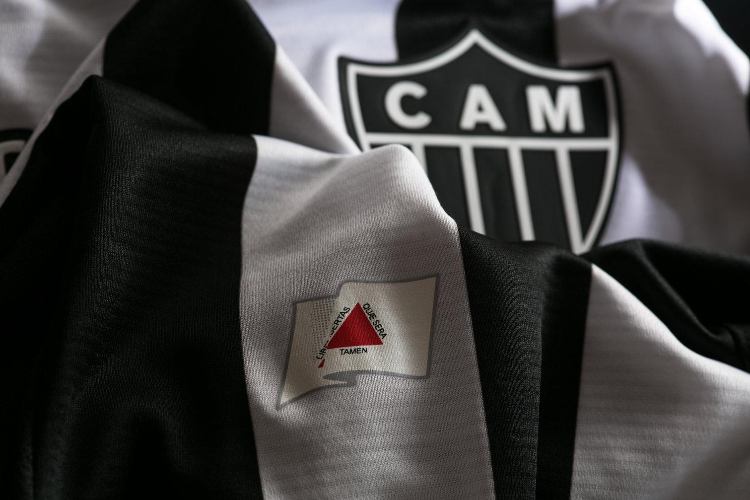 Camiseta titular 2018 del Atlético Mineiro | Imagen Gentileza Topper