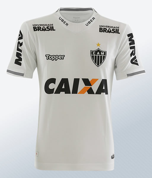 Camiseta suplente 2018 del Atlético Mineiro | Imagen Gentileza Topper