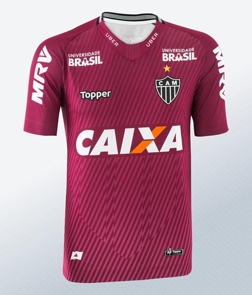 Camiseta de arquero 2018 del Atlético Mineiro | Imagen Gentileza Topper