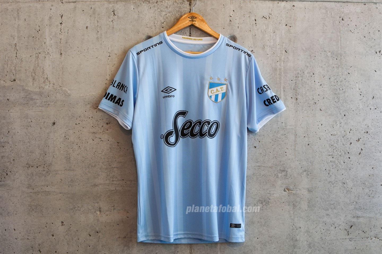 Tercera camiseta Umbro 2018 de Atlético Tucumán | Foto Twitter Oficial