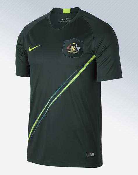 Camiseta suplente de Australia Mundial 2018 | Imagen Nike