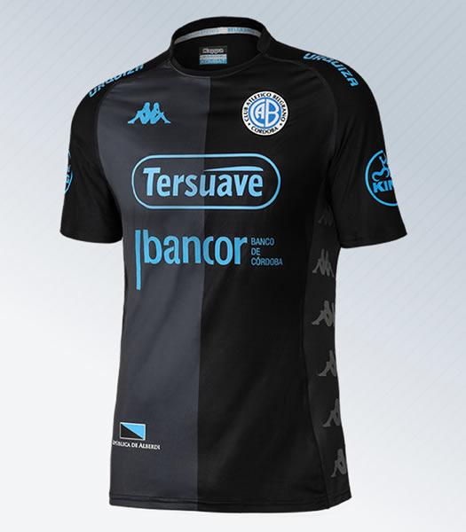 Nueva camiseta alternativa Kappa de Belgrano 2018 | Foto Web Oficial