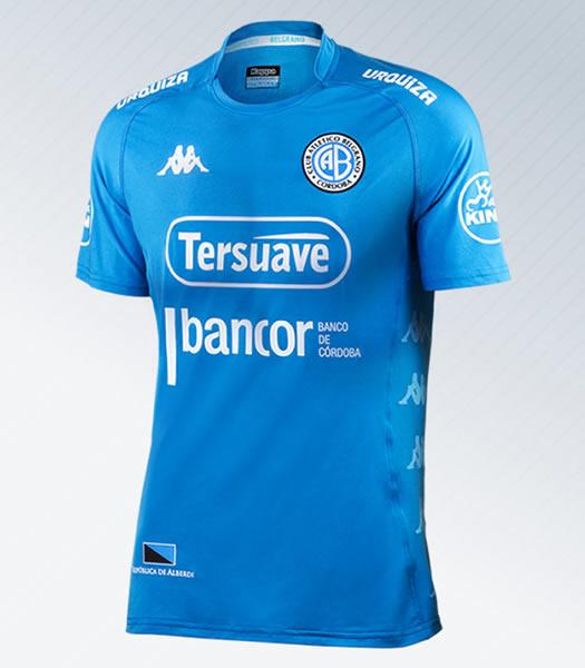 Nueva camiseta Kappa de Belgrano de Córdoba   Foto Web Oficial