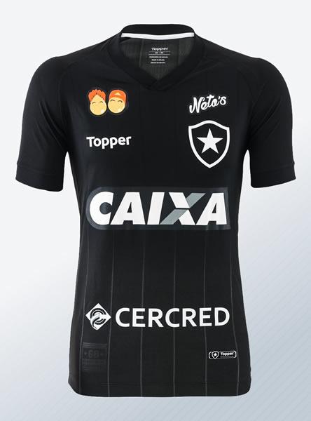 Camiseta suplente del Botafogo | Imagen Web Oficial