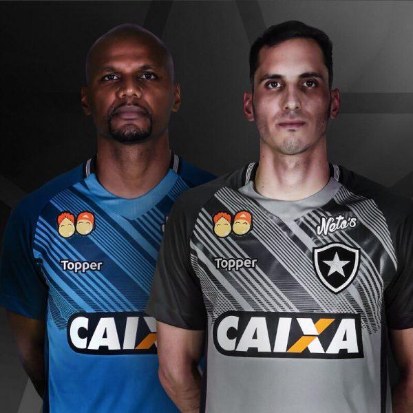 Camisetas de arquero del Botafogo | Imagen Web Oficial