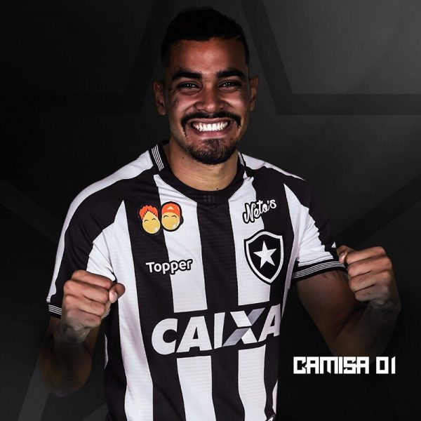 Camiseta titular del Botafogo | Imagen Web Oficial