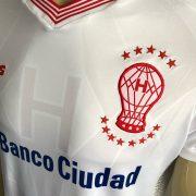 Camiseta titular TBS de Huracán 2018 | Foto Web Oficial
